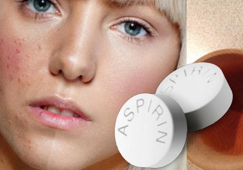 Aspirin maskaları ilə təmiz, parlaq dəriyə sahib olun