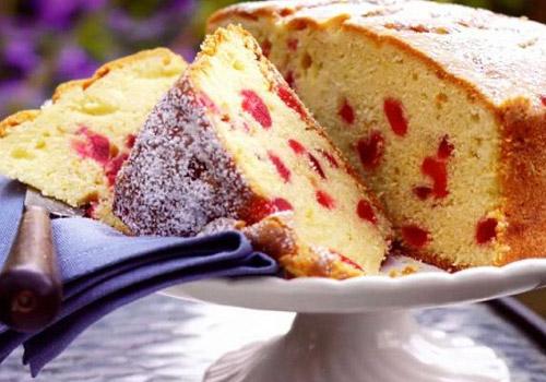 Albalı ilə çox dadlı keks